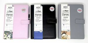 Planahead See It Bigger Apr 2020 June 2021 Monthly Weekly Planner Agenda Leather