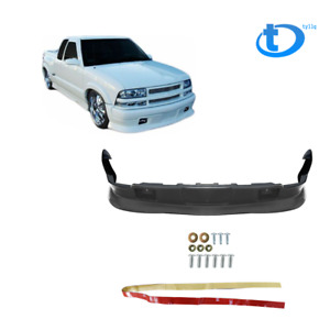 Front Bumper Lip Spoiler For 98 04 Chevy S10 Gmc Extreme Xtreme Style