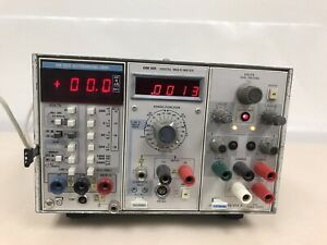 Tektronix Tm503 3 Slot Mainframe With Modules F 503 Dm 502 And Ps 503 A