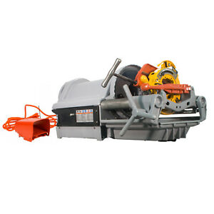 Reconditioned Ridgid 1224 Pipe Threading Machine Power Threader 26092