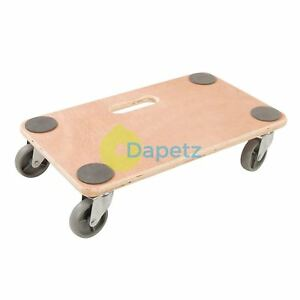 Platform Dolly 150kg Furniture Mover Removals Warehouse Office Trolley