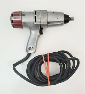 Ingersoll Rand Electric Impact Wrench 1 2 Drive With 14ft Cord