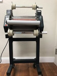 Tamerica Versalam 1300 13 One Two Sided Roll Laminator W stand