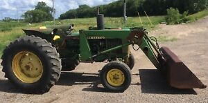 1977 John Deere 2640 Tractor 3 Pt Hitch 540 Pto Diesel Engine 148 Loader