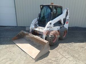 2006 Bobcat S175 Skid Steer Erops Heat Aux Hyd Hand foot Controls 1640 Hrs 46 Hp