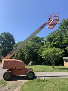 2005 Jlg 600s 60 4x4 Dual Fuel Rough Terrain Telescopic Boom Man Lift