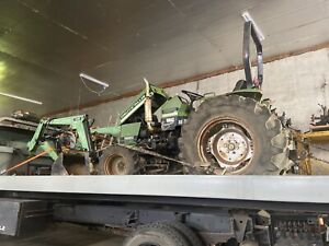 Deutz allis 5220 4 Wheel Drive With Loader Parts Or All That Is Left