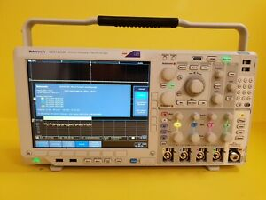 Tektronix Mdo4104c 1ghz 4ch Scope 6ghz Rf Spectrum Analyzer 50mhz Funcgen Dvm