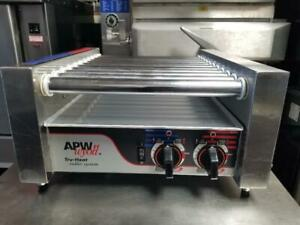 Apw Wyott Hr 20 Hot Dog Roller Chrome Surface Grill Cooker
