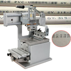 Manual Pad Printer Pad Printing Machine For Pen Ball Label Logo Mug Diy Us Stock