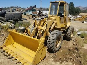 Caterpillar 930 Wheel Loader 4x4 With Roll Out Bucket