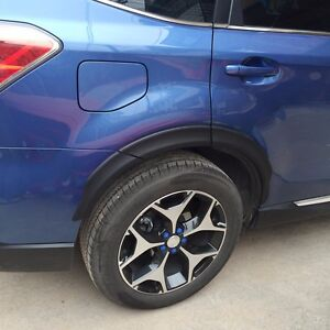Fit For Subaru Forester 2013 2016 2017 Abs Plastic Wheel Eyebrow Round Arc