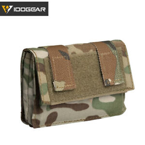 IDOGEAR FAST Helmet Cover Removable Rear Pouch NVG Counterweight Battery Pouches $12.59