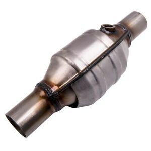 2 Inch Universal Catalytic Converter High Flow Stainless 53004 New