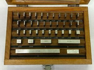 Hdt Inch Gauge Block Set 36pcs