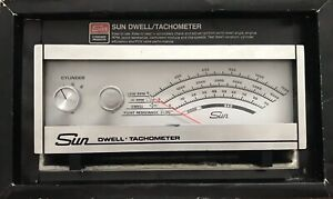 Sun Dwell Tachometer Unit Model Cp 7601 With Original Box Preowned