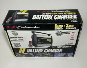 Schumacher Sc 600a Battery Charger 12v 6 Amp open Box