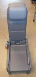 Honda Odyssey Rear Second Row Middle Center Jump Seat Gray Faux Leather 05 07
