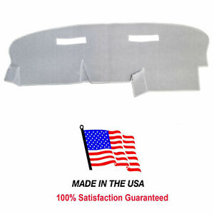 Light Gray Carpet Dash Cover Compatible W 1988 1989 Chevy Astro Ch56 1
