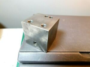 1 9 16 x 1 1 2 Drilled And Tapped Steel Machinist Parallel Set Up Block