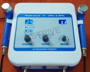 New Ultrasound Physical Therapy Machine 1 3 Mhz Frequency Dual Handle Machine