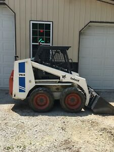 743 Bobcat Skid Steer