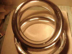 2 15 Inch Wheel Beauty Trim Rings Chevy Pontiac Oldsmobile Buick Ford Chrysler