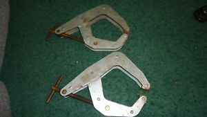 Two Kant Twist Clamps 6d 421 Vise Grips Machinist Welding Tools Usa Holder