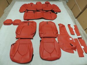 Leather Seats Upholstery Fits Toyota Camry Le Se 2018 2019 Red Vin j L4