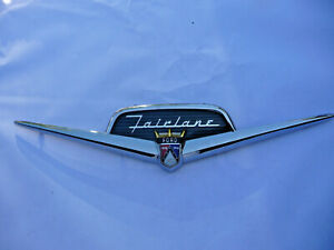 1956 Ford Fairlane Trunk Plastic Emblim Retainer Crown Victoria victoria