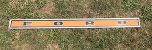 Ford Tailgate Molding Truck Pickup Trim Panel 55 X 4