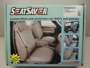 New Covercraft Seatsaver 2008 Ford F250 F350 Pick up Seat Covers Taupe Gray