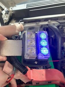 Whelen Double Stacked Blue Tir3 Led