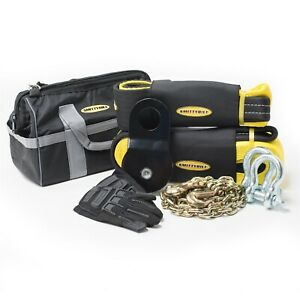 Smittybilt 2725 Winch Accessory Kit With Premium Bag In Black Yellow