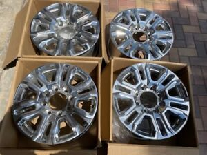 20 Gmc Denali Chevy 2500 Hd 3500 Hd Oem Factory Polished Wheels Rims 2020