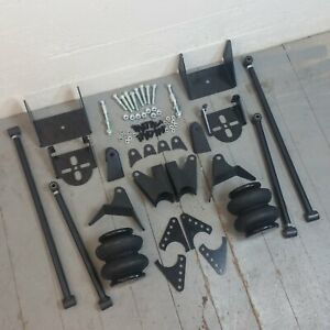 1973 87 Chevy C10 Pickup Truck Suspension Four 4 Link Air Ride Kit Gm Gmc Ls V8