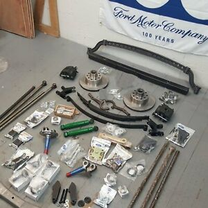 1928 1931 Ford Model A Deluxe 4 Link Drop Drilled Axle Kit Rat Hot Rod Early V8