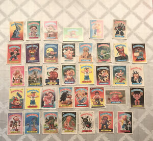 1980's GARBAGE PAIL KIDS HUGE 217 CARD LOT VG-EXMT OS-2 Mostly OS-3 $9.99
