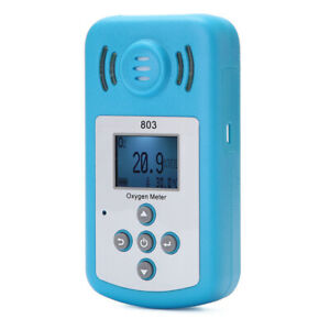 Oxygen Meter Portable Oxygen o2 Concentration Detector With Lcd Display X6g4