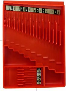 Tool Sorter Wrench Organizer Red