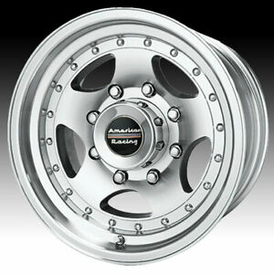 American Racing Ar23 Machined 16x8 8x170 0mm Ar236870
