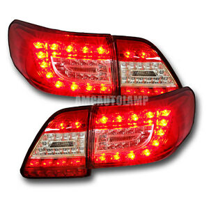 Tail Lamp Led Rear Light For Toyota Corolla Gen4 Altis Anzo 2011 2012 2013