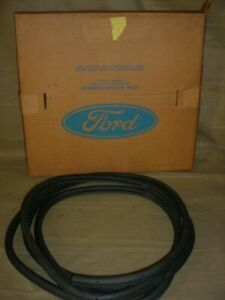 Nos 1966 1971 Oem Ford Fairlane Mustang Trunk Weatherstrip D0az 6243720 a