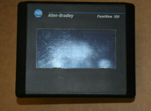 Allen Bradley Panelview 550 Touch Screen 2711 t5a16l1 b Rev c Frn 4 41