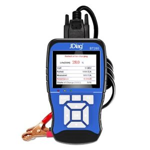 2x jdiag Universal Car Battery Tester 12v 100 To 2000cca 12 Volts Battery T D1x5