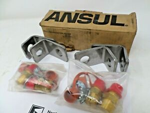 Set Of 4 Four Ansul 57044 Vehicle Fire Suppression Nozzle With Blow off Cap