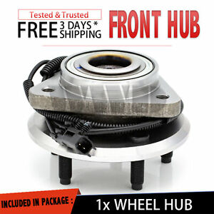 Front Wheel Hub Bearing Stud Abs For 2007 2011 Dodge Nitro 2008 12 Jeep Liberty