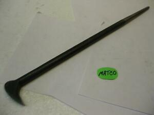 Matco Tools Usa Rlf16 Rolling Head Pry Bar Lady Foot 16 Long Prybar Nice