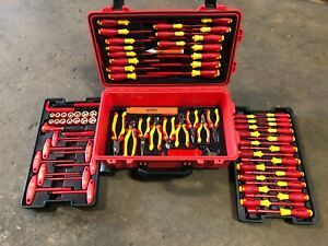 Wiha 32800 Electrical Insulated Tool Set 80 Pieces