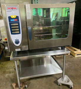Rational Scc62g propane Or Nat Gas Combi Oven Full Size excellent Condition